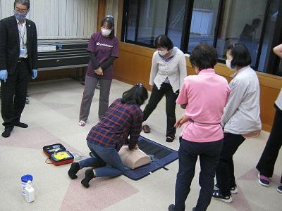 令和2年AED訓練.